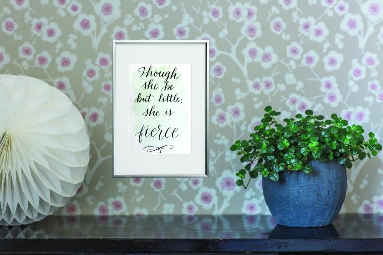 Stock Photo Setup - framed art